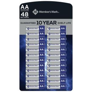 Member's Mark AA batteries from Sam's Club