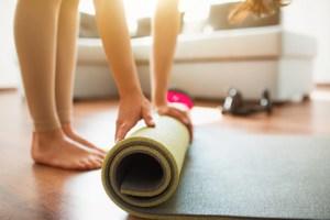 cheap workout mat