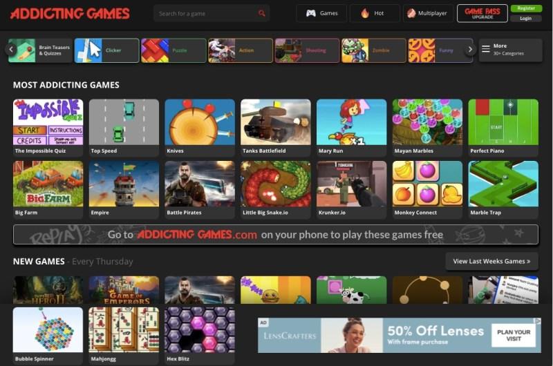 AddingGames.com free online games