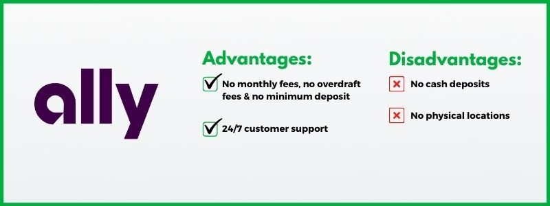 Ally Bank is one of the best free checking accounts in 2020.