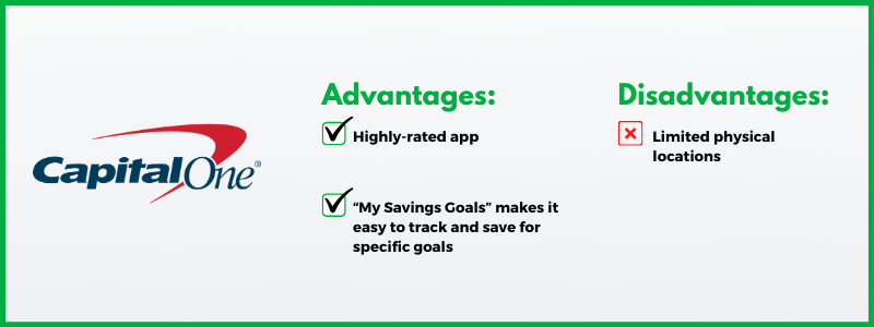 The Capital One 360 Performance Savings Account is one of Clark.com's favorites.