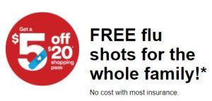 CVS flu shot offer