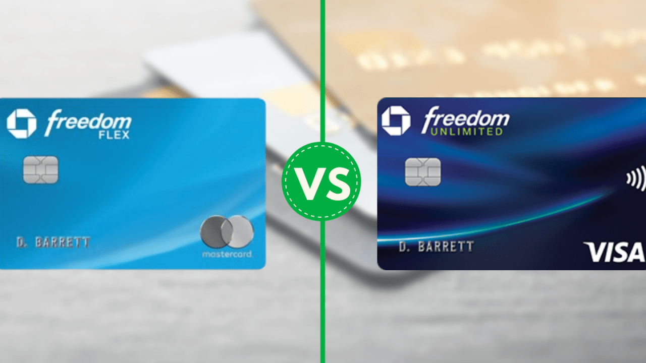 Chase freedom flex credit card vs Chase freedom credit card