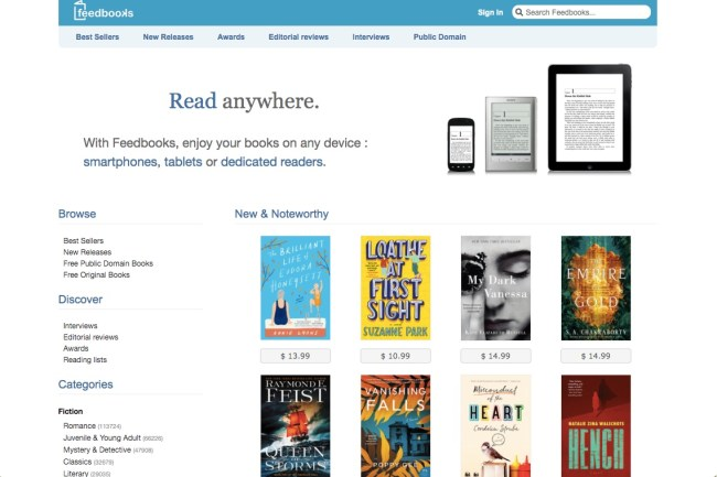 Feedbooks - 15 of the Finest Locations to Discover Free E-Books