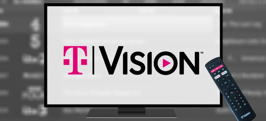 TVision is a live TV streaming service from T-Mobile