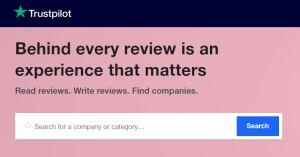 Trustpilot review site