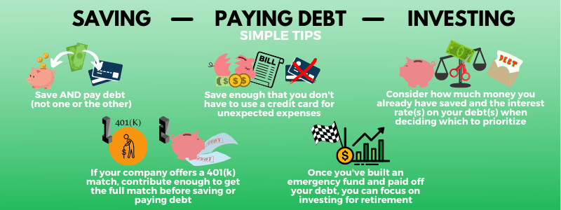 Here's what to do if you've already paid off debt and saved money.