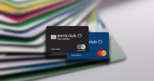 Sam's Club Mastercard gives cash back rewards.