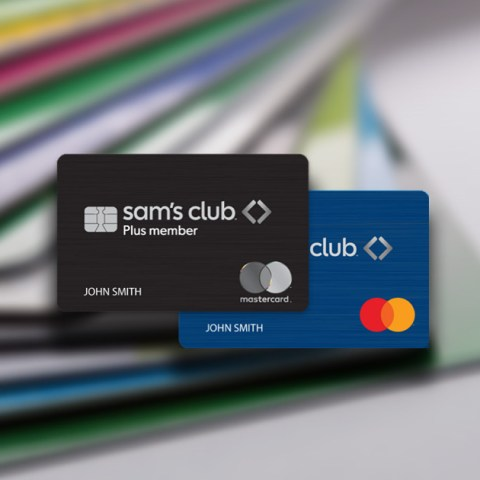Sam's Club Mastercard gives cash back rewards.