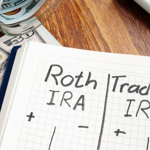 Roth vs. traditional IRA is a decision that you'll face if you want to fund a retirement account outside of work.