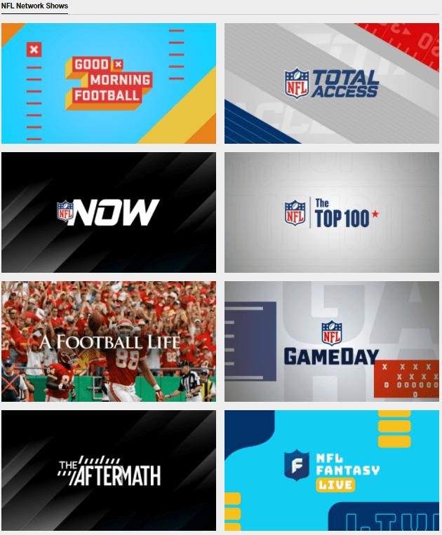 NFL Network content