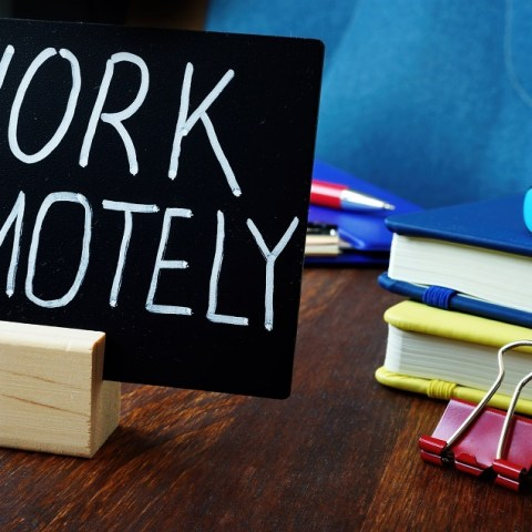 Hybrid jobs that let employees work remotely some time