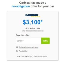 Nissan Leaf appraisal