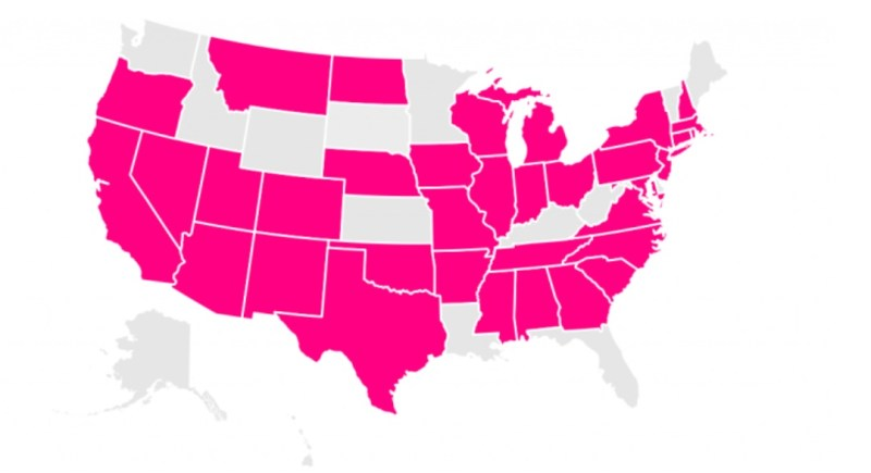 States where Lemonade Insurance offers coverage.