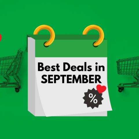 7 Things on Deep Discount in September