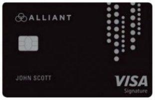 alliant visa signature credit card