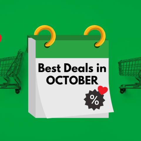 Best deals in October