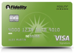 Fidelity Rewards Visa Signature Credit Card