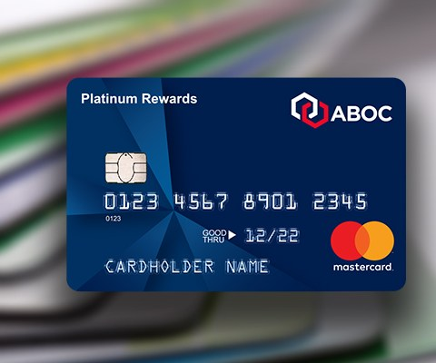 ABOC Platinum Rewards Mastercard®: $150 cash back and 12 months of 0% APR