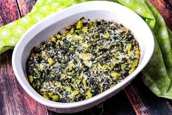 Zucchini Spinach Casserole