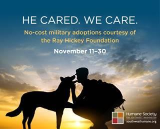 Humane Society of Southwest Washington He Cared We Care
