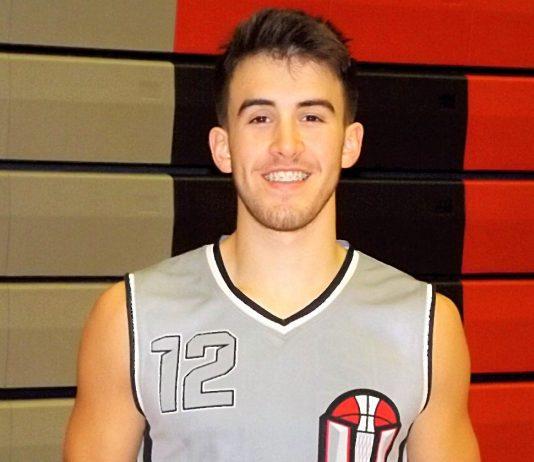 Union HIgh School Tyler Combs Basketball