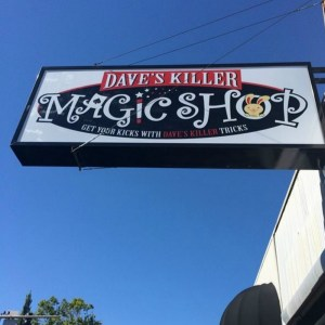 Dave's Killer Magic Shop