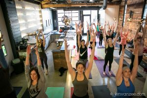 Yoga and Beer Vancouver labrwatory