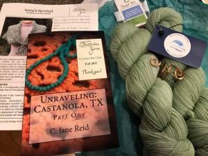 C Jane Reid Author Ficstitches Yarns Crochet Kit