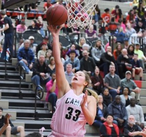 Courtney Clemmer Basketball Papermakers