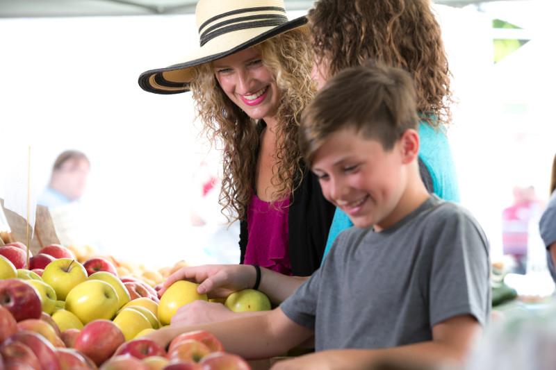 Organic Foods Shopping