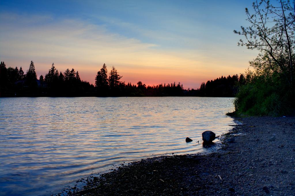 Valentines Day Clark County Lacamas Lake via Jonathan Mueller