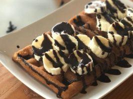 Vancouver Pines Coffee and Tea vegan waffle pop-ups