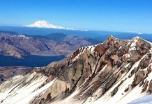 Climbing Mount St Helens Summit View