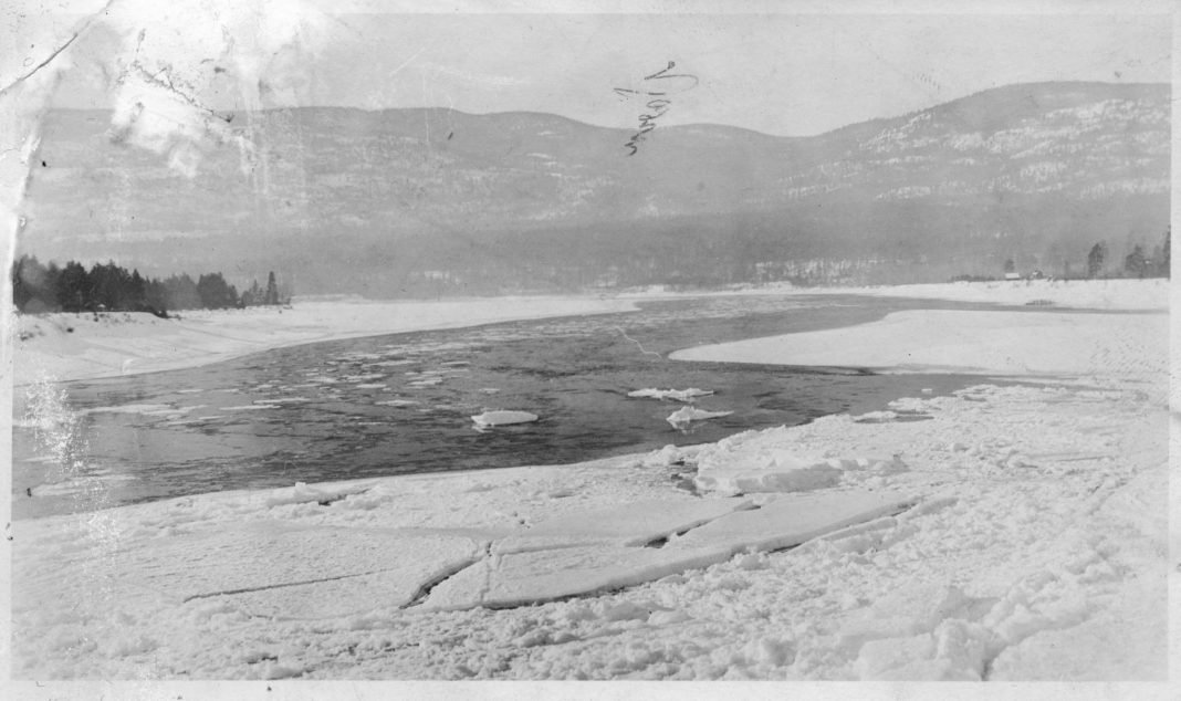 History of Columbia River Frozen