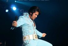 Mark Stevenz as Elvis - Courtesy of Mark Stevenz website