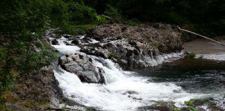 Moulton Falls Regional Park Small Waterfall