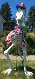 Rex on 179th Flag
