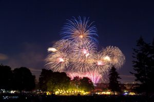 4th of July Fort Vancouver 2019 fireworks