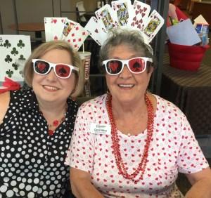 Shannon Van Horn and Carol Alice Camas Poker Tour