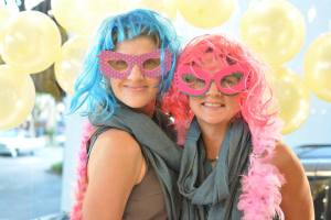 Camas Downtown Association Girls Night Out Gretchen Brown and Tina Eifert GNO Photo Booth