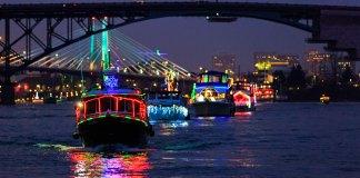 Holiday Events Columbia river Vancouver Christmas Ships