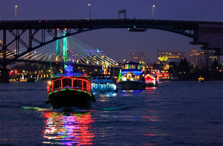 Holiday Events Columbia river Vancouver Christmas Ships