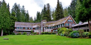 Lake Quinault Lodge Back via Douglas Scott