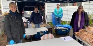 Washgoual School District COVID 19 food distribution Rockwood Apt
