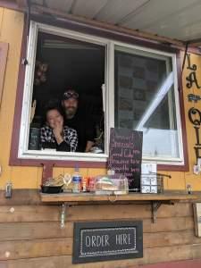 to go food clark county La Oie food cart