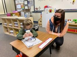 Madisyn Deaver and Brittni Nester Gause Preschool Instructor - Nov 2020