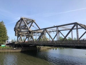 Day Trip Grays Harbor Bridges Aberdeen-Wishkah-River-Bridge