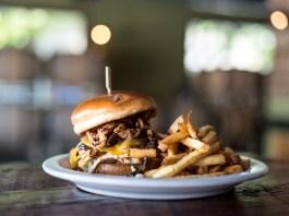 Downtown Camas Association Grains of Wrath burger