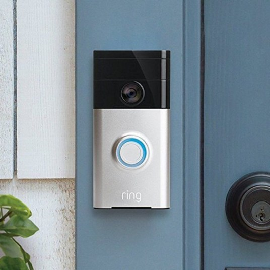 Ring Wi-Fi enabled video doorbell for $70, free shipping